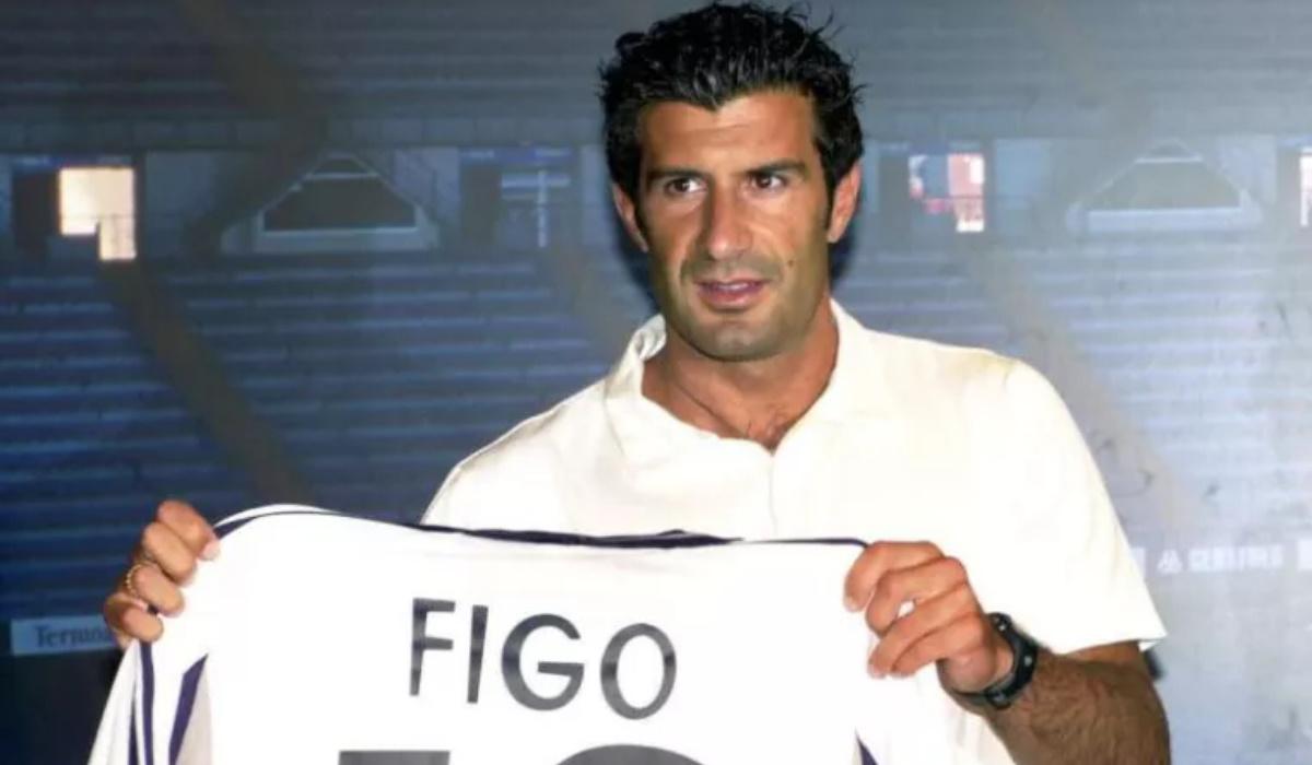 Figo trocou o FC Barcelona pelo Real Madrid há 20 anos e mudou o futebol para sempre