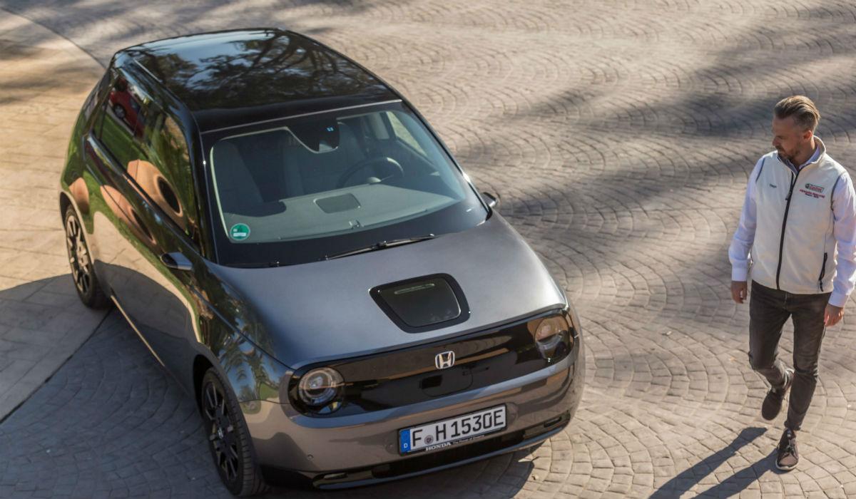 Honda e: o novo modelo 100% elétrico da Honda já chegou a Portugal