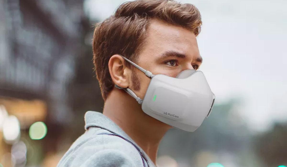 Esta máscara purifica o ar e basta carregar a bateria