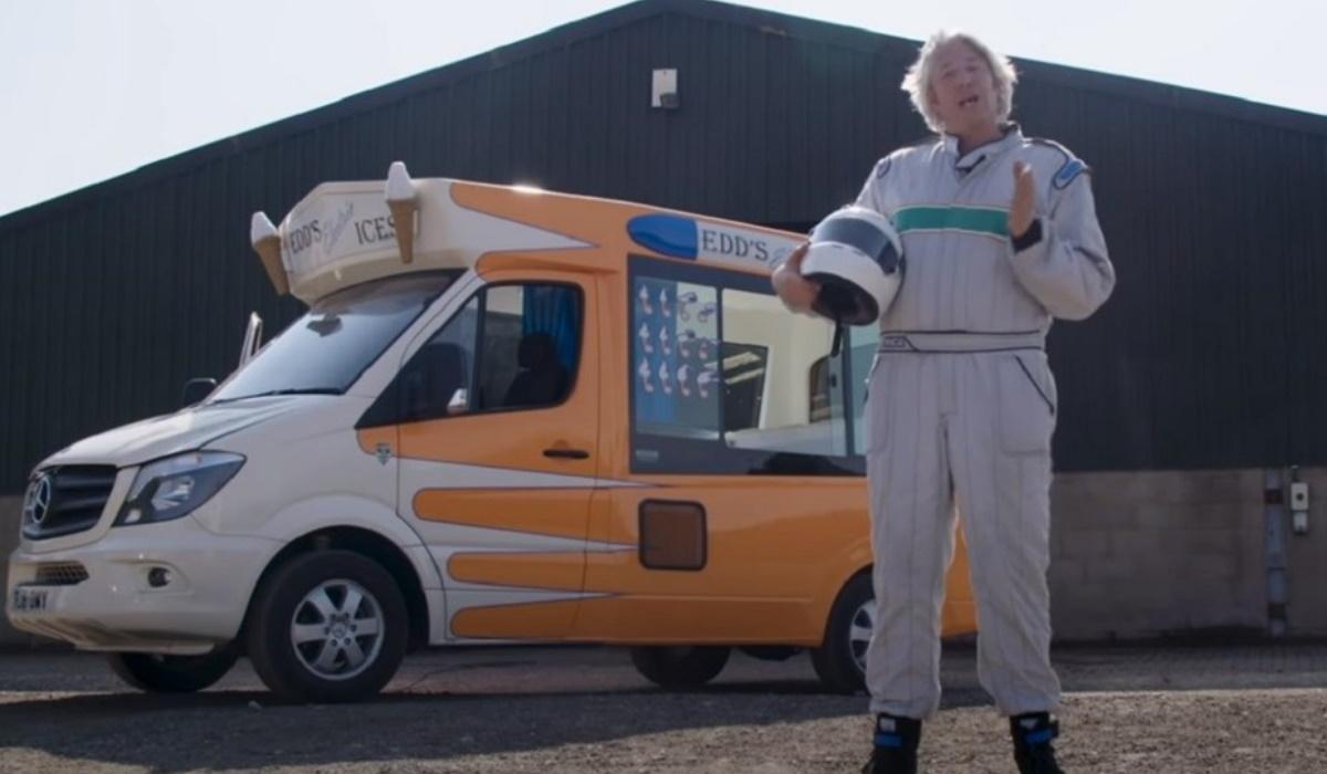 Edd China bate recorde do mundo de velocidade com carrinha de gelados elétrica