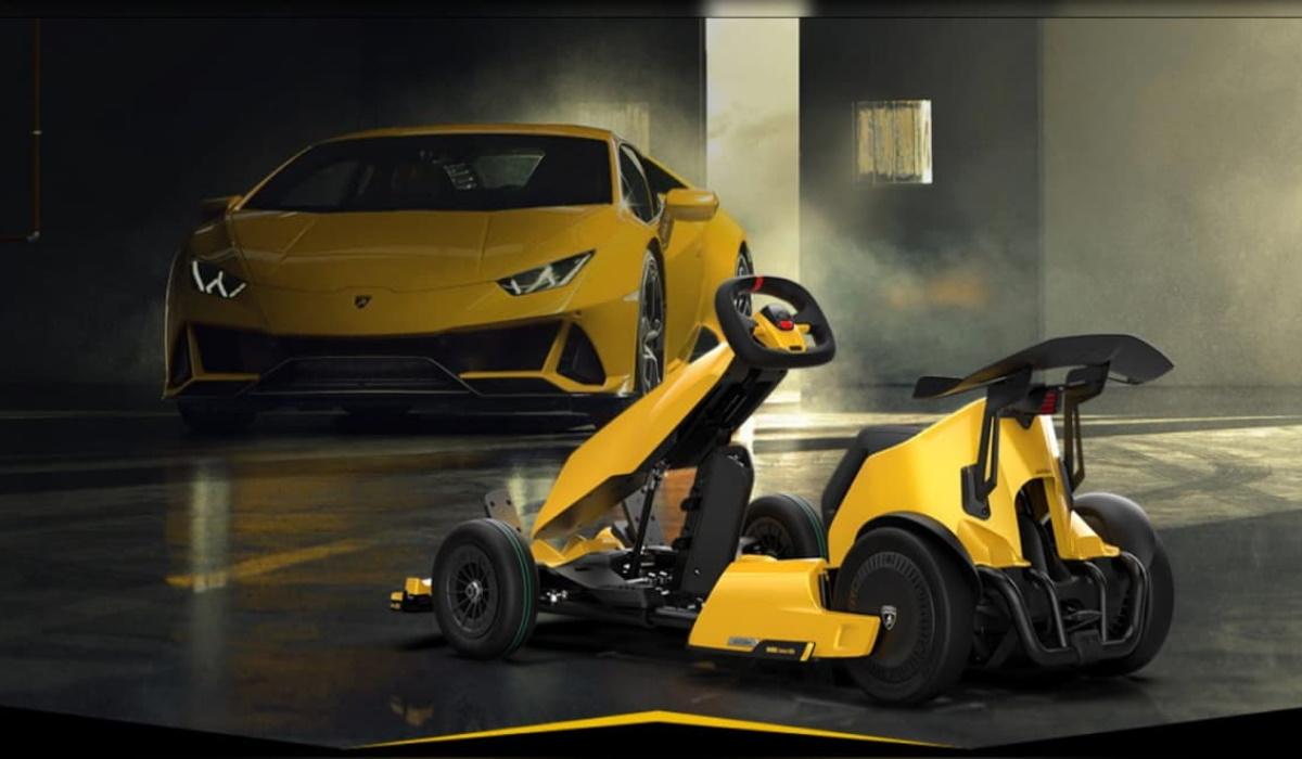 Lamborghini e Xiaomi unem esforços e lançam kart elétrico