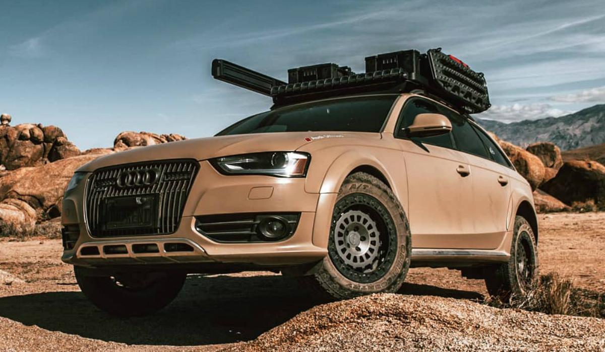 Esta Audi Allroad está pronta para uma aventura fora de estrada