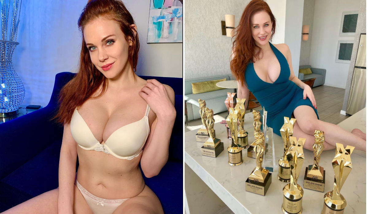 Maitland Ward, a colecionadora de prémios na pornografia