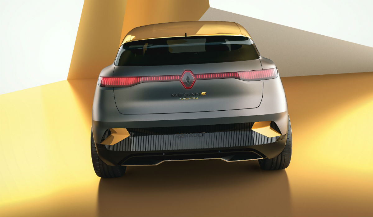 Mégane eVision, o futuro elétrico da Renault