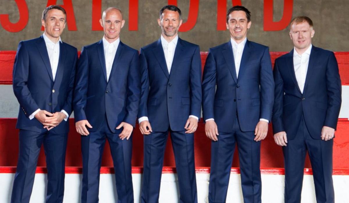 Paul Scholes é o novo treinador da equipa de Beckham, Giggs e dele próprio