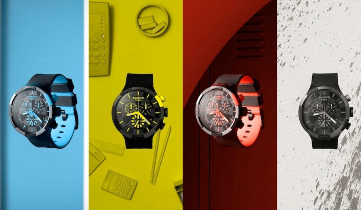 Na nova coleção da Swatch há cores para todos os gostos