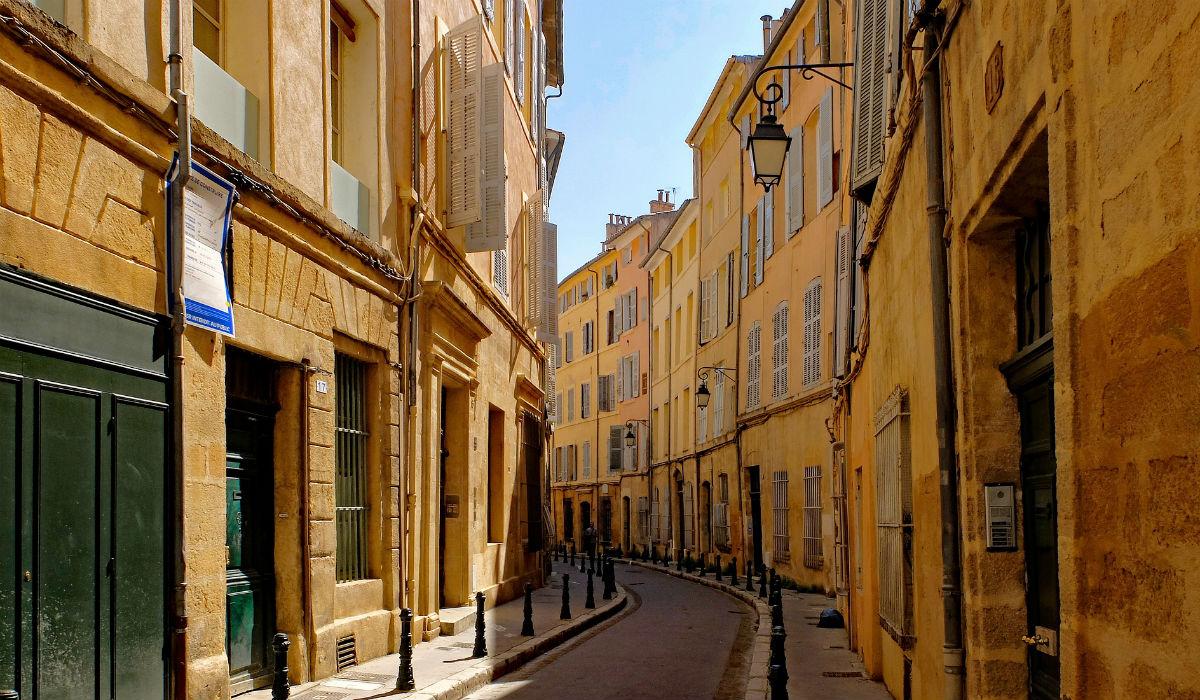 Aix-en-Provence, a cidade universitária cheia de charme no sul de França