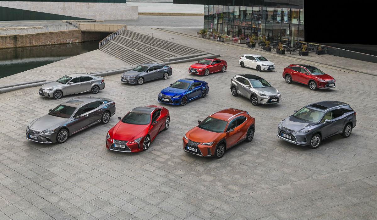 Lexus chega a número redondo de vendas na Europa