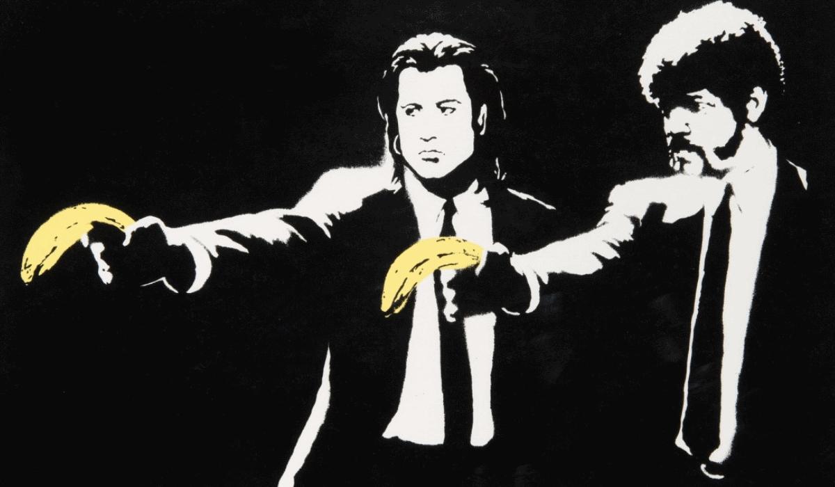 Cena de Pulp Fiction vista pelos olhos de Banksy vale 134 mil euros