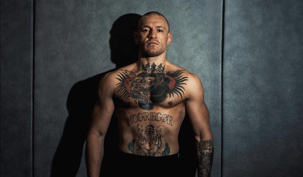 Conor McGregor volta a sair da reforma