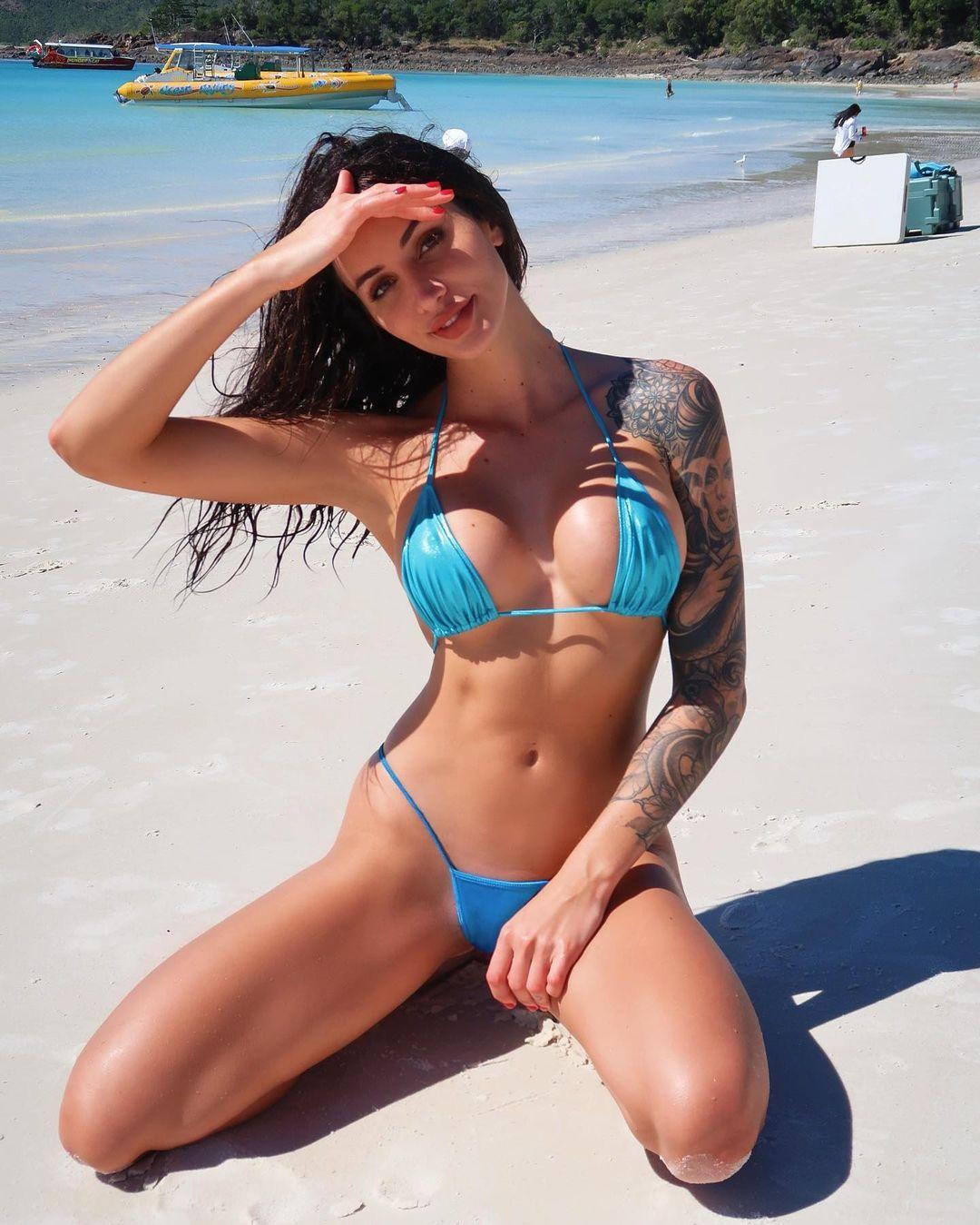 Vanessa Sierra, a modelo dos vídeos eróticos que conquista bad boy do ténis