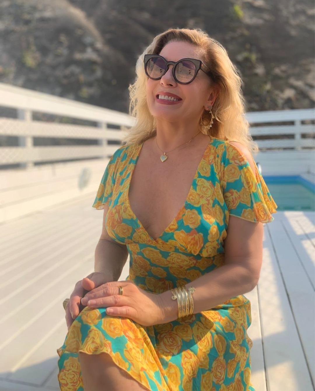 Vera Fischer e a nudez que provoca o caos