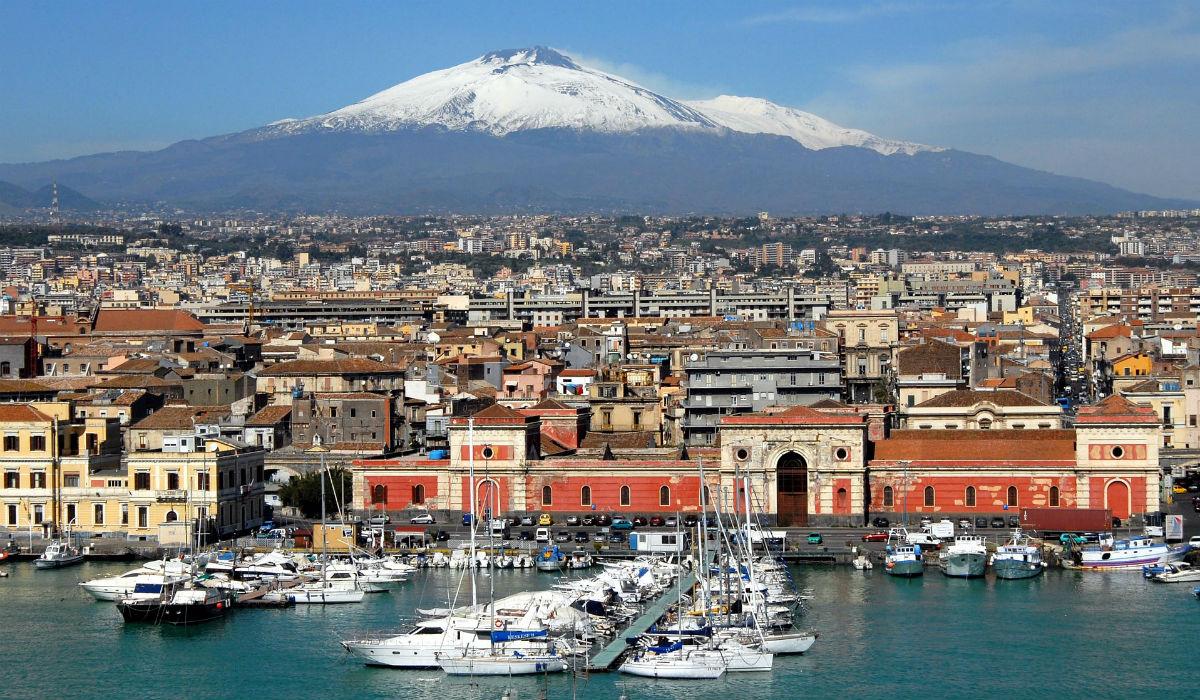 Catânia, a joia da Sicília que tem uma enorme capacidade de se reinventar