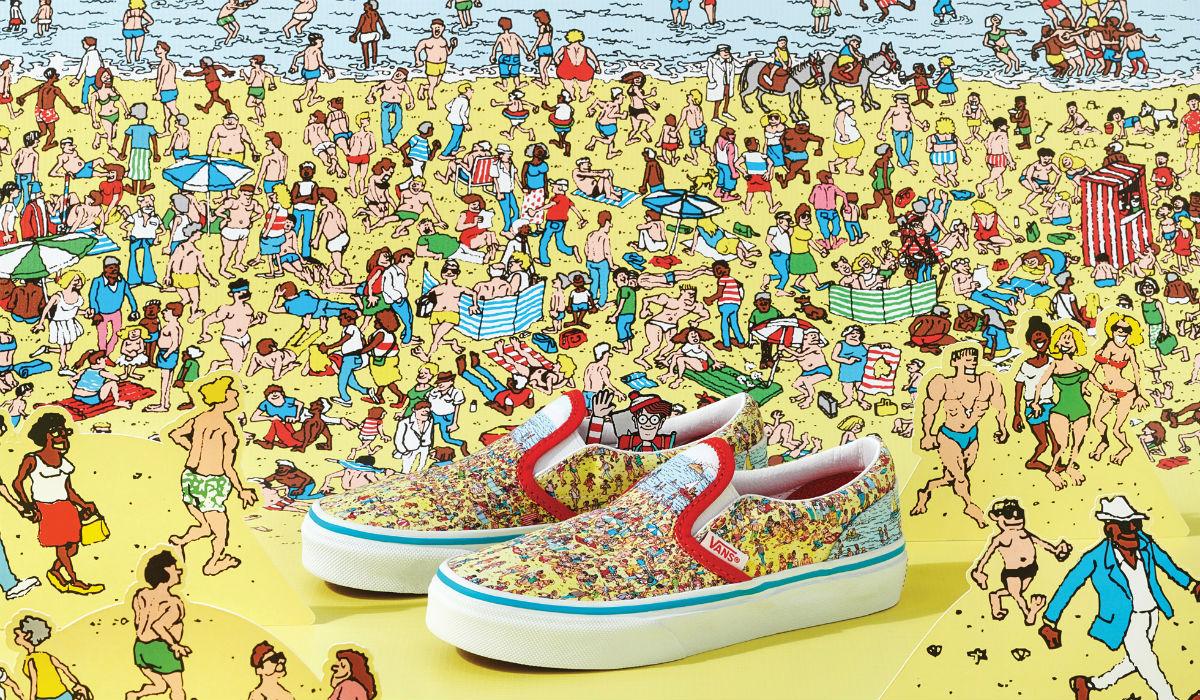 """Vans e """"Onde Está o Wally?"""" juntam-se numa coleção divertida de vestuário e calçado"""