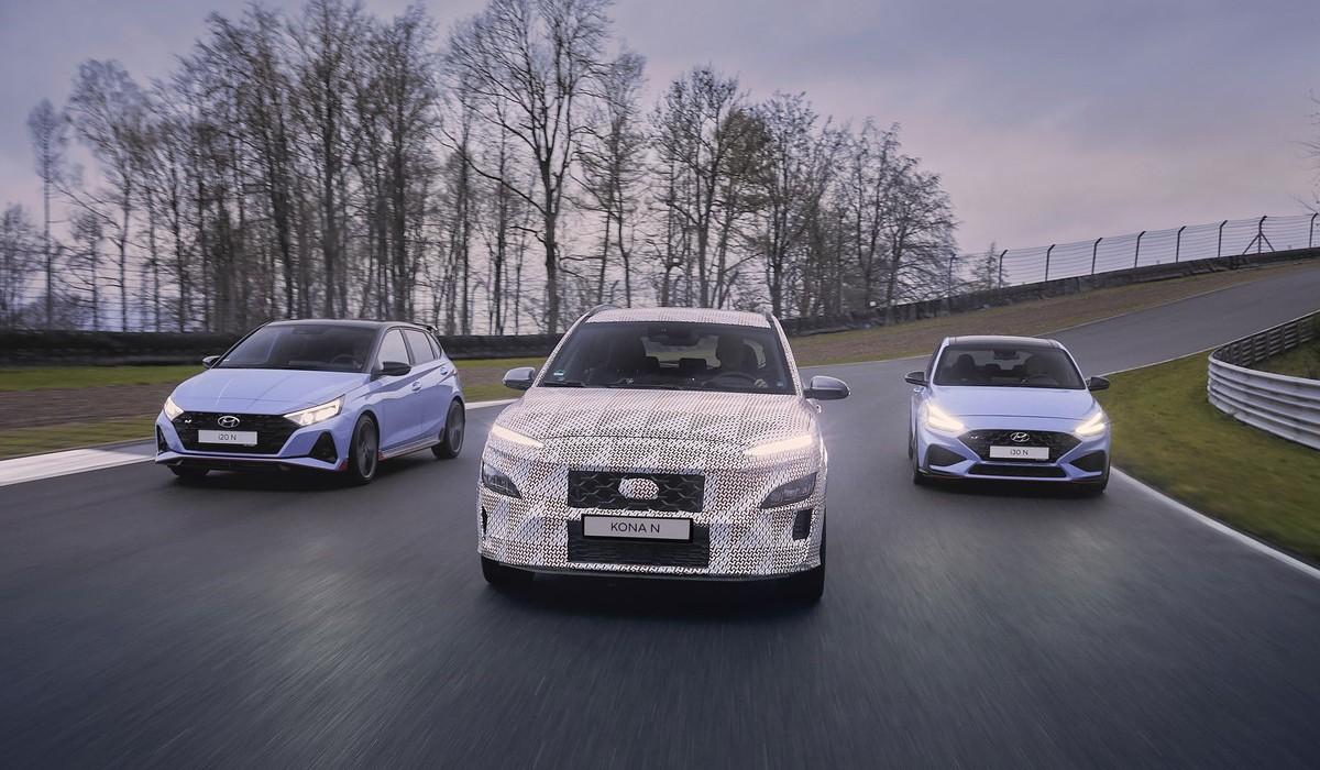 """O novo Hyundai Kauai é o primeiro SUV a juntar-se à família """"N"""" da marca"""