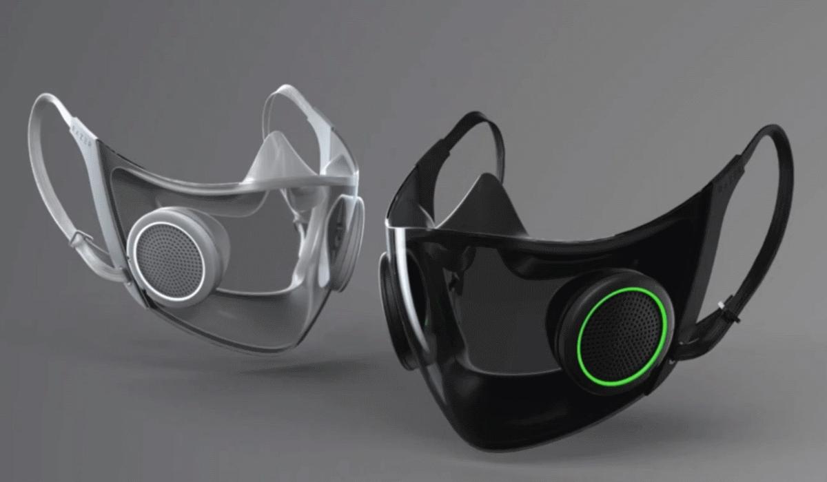 Razer cria máscara inteligente para combater a covid-19