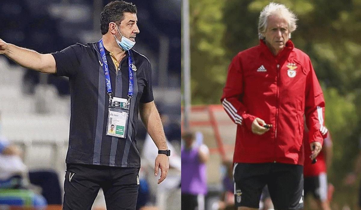 Rui Vitória e Jorge Jesus em novo capítulo de uma caricata história de treinadores