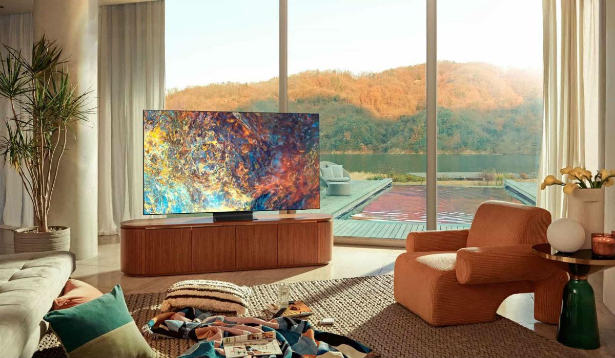 As novas televisões da Samsung têm comandos solares