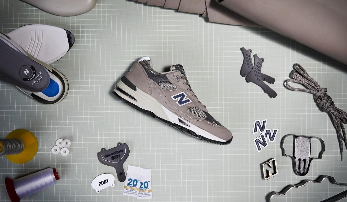 New Balance comemora 20 anos do icónico 991