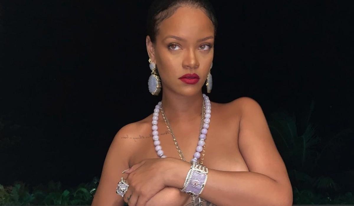 Rihanna e o topless da polémica que apanhou muita gente desprevenida