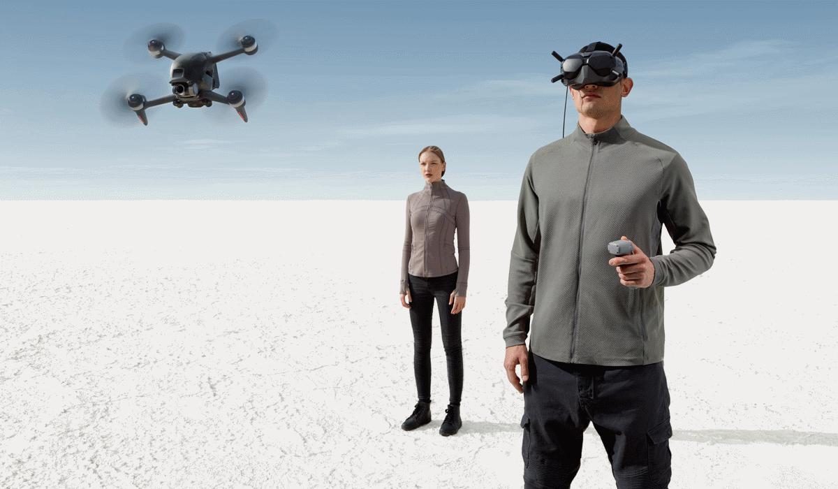 DJI FPV, o drone que pode ser controlado com os olhos e que atinge os 140 km/h