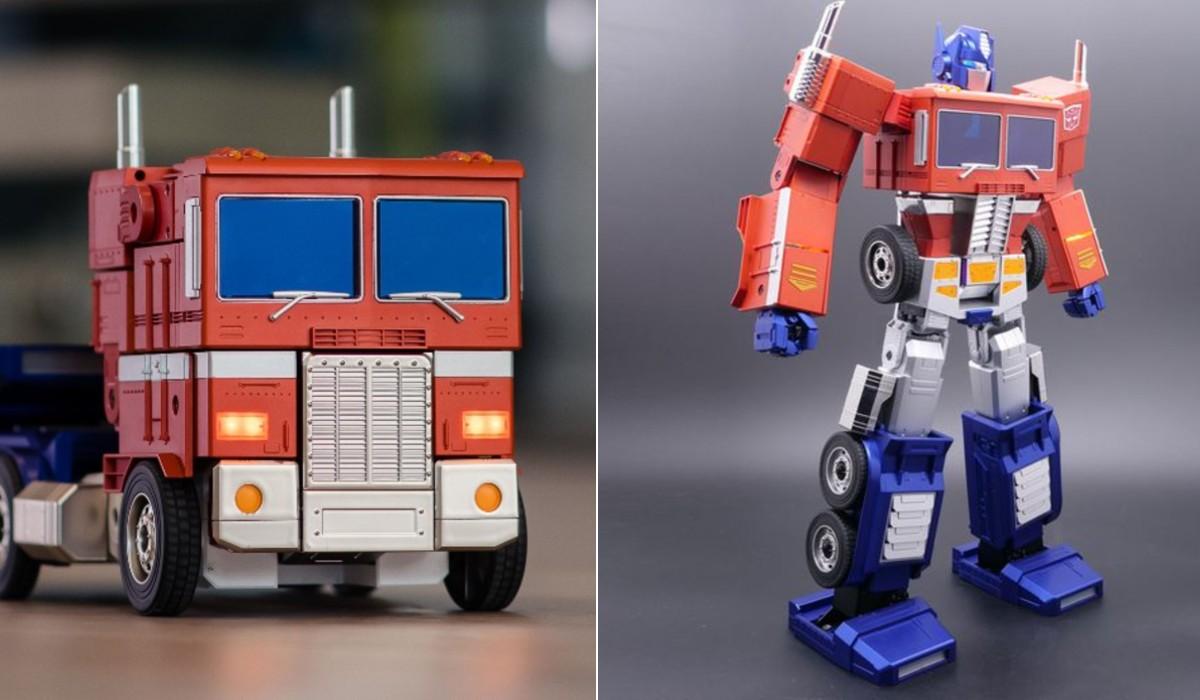 Este Optimus Prime é um brinquedo incrível, mas não está ao alcance de todas as carteiras