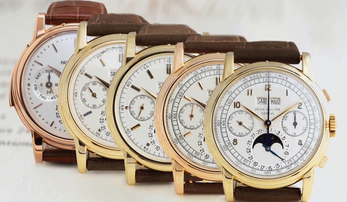 Esta extraordinária coleção de relógios Patek Philippe pode ser sua