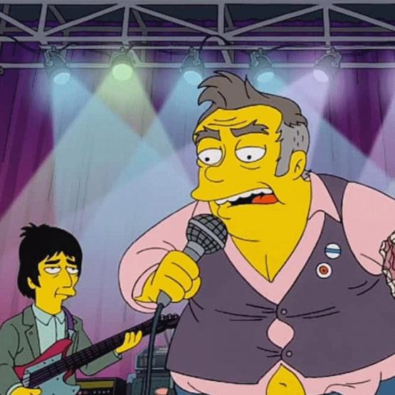 Morrisey é o protagonista da mais recente polémica de Os Simpsons