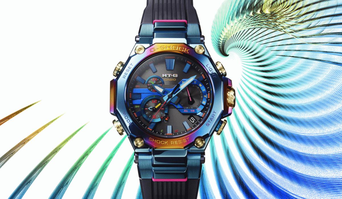 Nova aposta da G-Shock é de edição limitada e inspira-se na lenda da Fénix Azul