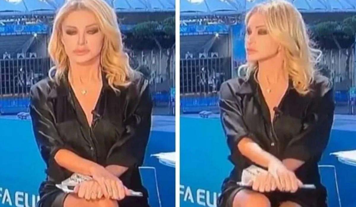 Jornalista apanhada a descruzar pernas ao estilo de Sharon Stone
