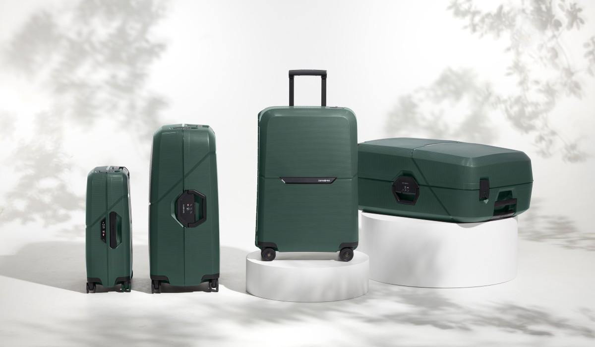 Samsonite lança malas de viagem feitas de material reciclado