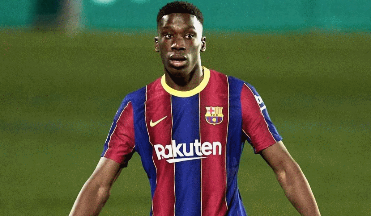 Ilaix Moriba, a jovem promessa que todos querem roubar ao Barcelona