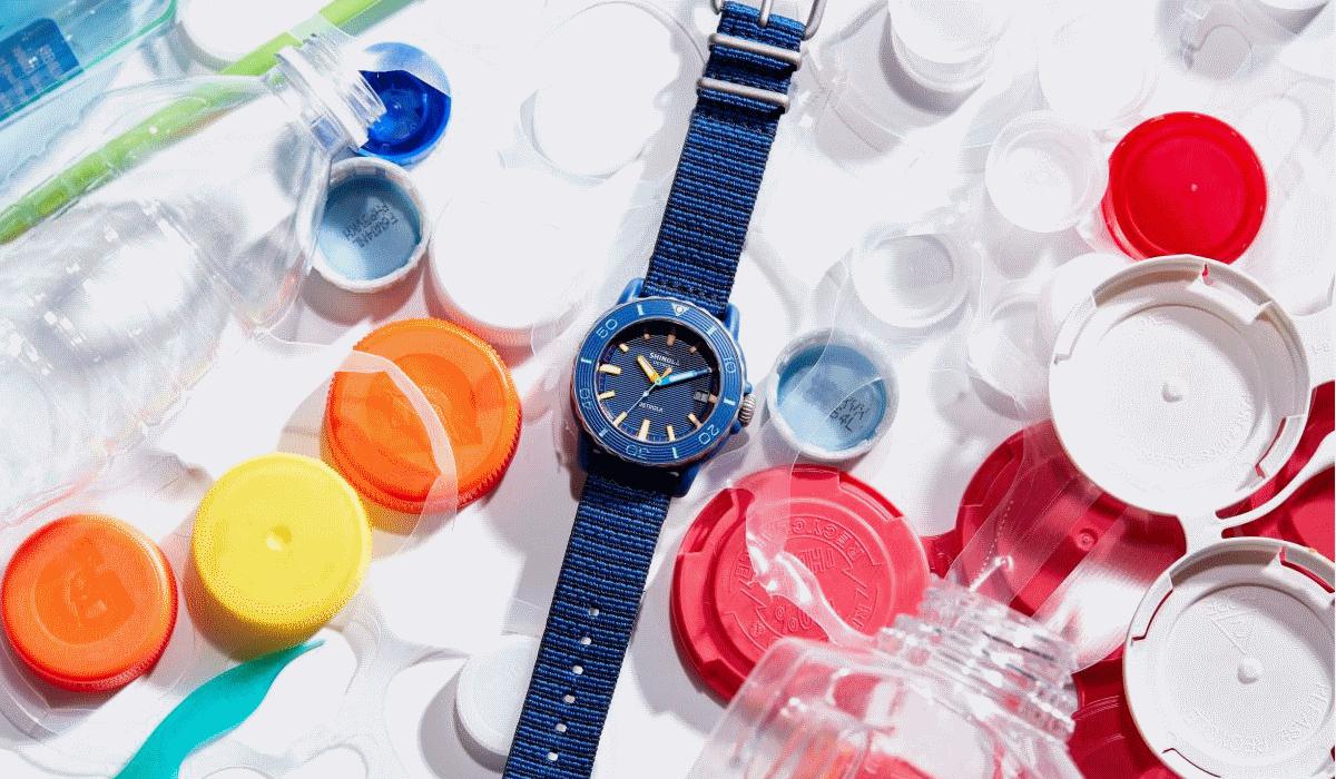 Shinola lança relógio feito com lixo oceânico reciclado