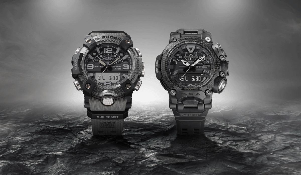 G-Shock anuncia lançamento de dois novos relógios da gama Master of G