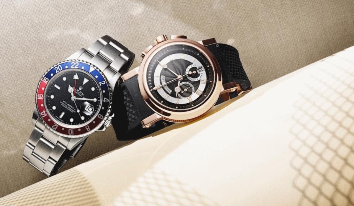 Mr. Porter ajuda-o a comprar um relógio de luxo em segunda mão