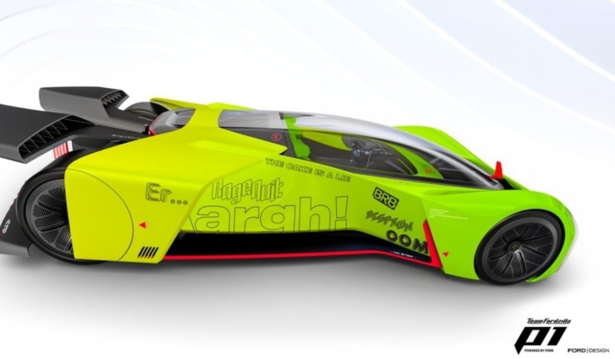 Ford transforma o seu P1 de competição no mais evoluído simulador de gaming