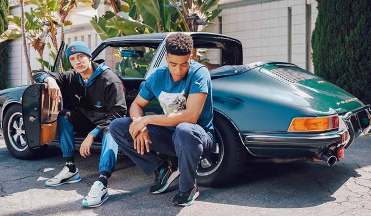 Porsche Targa inspira nova coleção da Puma