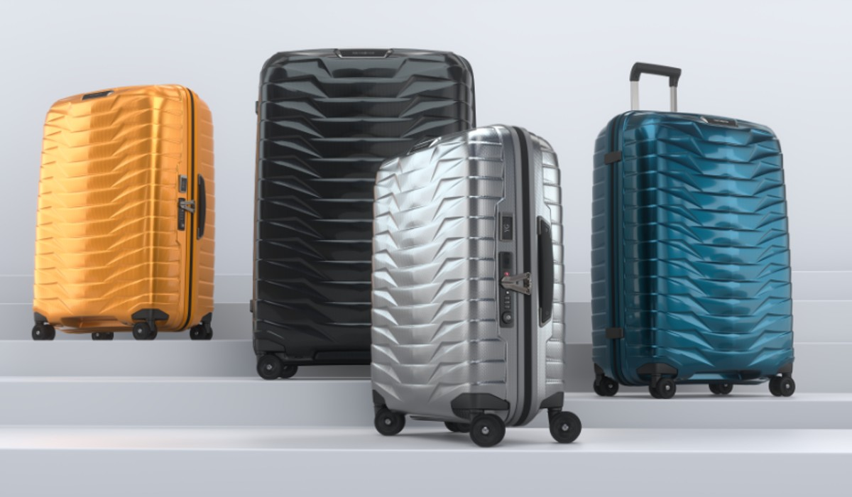 Samsonite lança nova coleção de malas rígidas
